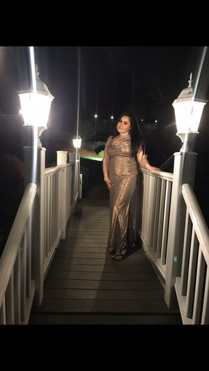 Gold dress size 14 for Sale in Andover, MA