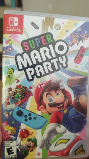 Nintendo Switch Super Mario Party Game for Sale in Buckeye, AZ