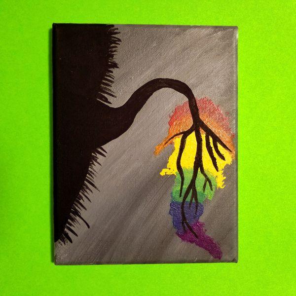 Color Tree Canvas