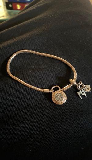 Real rose gold pandora bracelet w/ charm for Sale in Nashville, TN