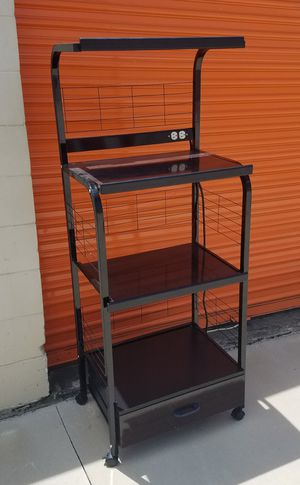 Utility Cart with electrical outlet for Sale in Tampa, FL
