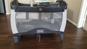 Graco pack and play with diaper station for Sale in Plano, TX