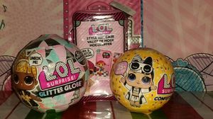 🌟LOL Surprise🌟LOT of 3❄Winter Disco(1) Confetti Pop(1) & Style Suitcase(1) for Sale in Edgewood, WA