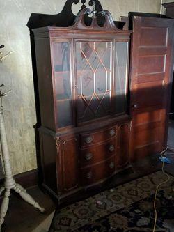 Antique Cabinet for Sale in Oaklyn,  NJ