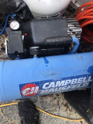 Campbell Hausfeld HL5402 4-Gallon Oil-Lubricated Air Compressor for Sale in Pickerington, OH