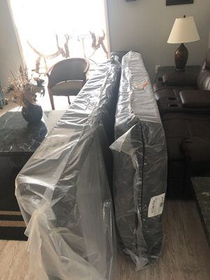King size box spring 2-pc half's for Sale in Woodhaven, MI