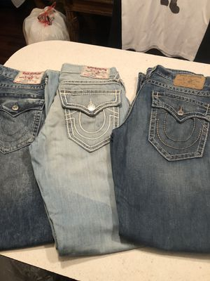 True-religion jeans size 32 men's for Sale in Fort Worth, TX