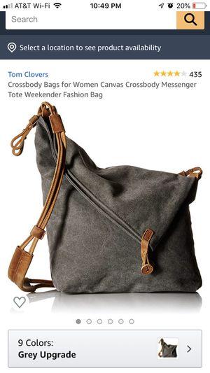 Canvas messenger bag - Tom Clover for Sale in Sherwood, OR