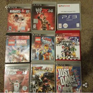 PS3 games for Sale in Conyers, GA