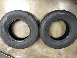 Bridgestone tires 265 70 16 for Sale in San Jose, CA