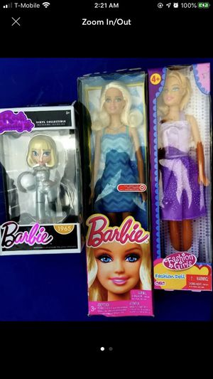 Barbie toys and collectible bundle for Sale in Hialeah, FL