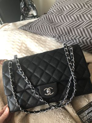 Authentic Chanel Bag Caviar Quilted Jumbo for Sale in Houston, TX