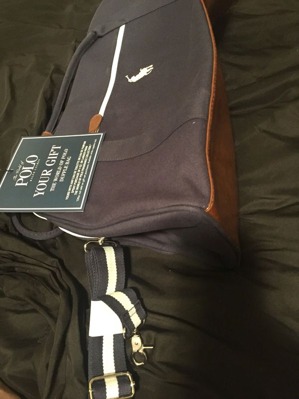 1ed83a0ebb Polo Ralph Lauren Duffle Bag ( brand new ) for Sale in Aurora