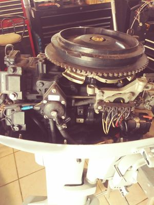95 Evinrude 20 hp with controls for Sale in Eustis, FL