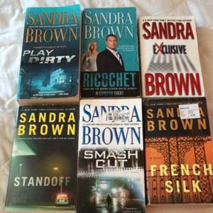 Sandra brown books for Sale in Poway, CA