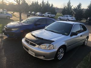 2000 Civic hatchback Manual for Sale in Manassas, VA