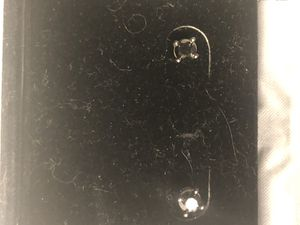 10karat black diamond earrings 1/4 karat for Sale in Mooresville, IN