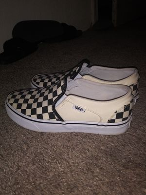Tan Checkered Vans for Sale in Portland, OR
