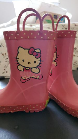 Hello Kitty Rain boots for Sale in Lakeside, CA