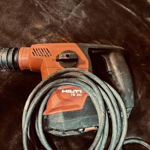 HILTI TE 30 SDS Roto Hammer for Sale in Seattle, WA