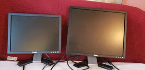 2 Dell monitors for Sale in Silver Spring, MD