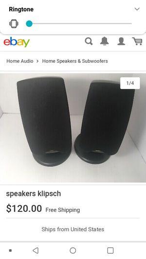 Klipsch speakers 50 for Sale in Fresno, CA