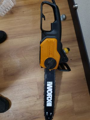 Worx electric chainsaw for Sale in Wall Township, NJ