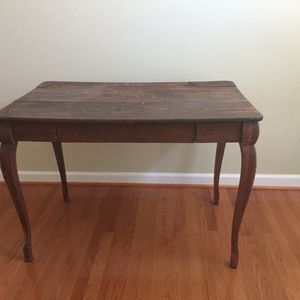 Antique Desk And Chair for Sale in Gaithersburg, MD