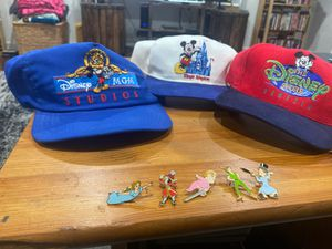 Disney pins and hats vintage for Sale in Long Beach, CA