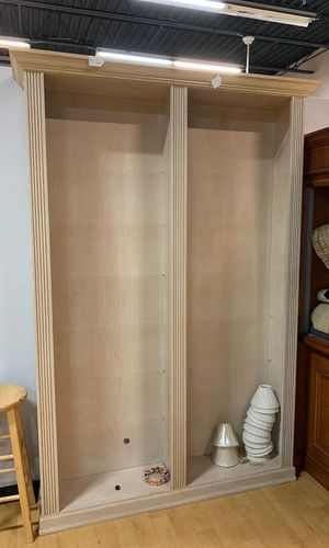 Super large bookcase add your own glass or wood shelves needs to go immediately will take best offer for Sale in Boca Raton, FL