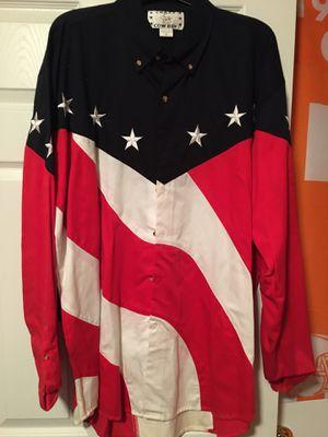 Red, White & Blue Western Shirt XL for Sale in Soddy-Daisy, TN