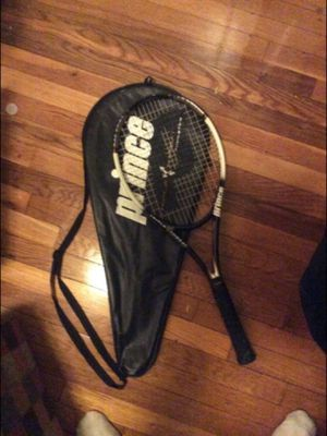 Prince Tennis Racket and Prince Bag for Sale in Quincy, MA