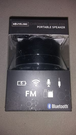 Sound Logic portable speaker Bluetooth for Sale in Wausau, WI