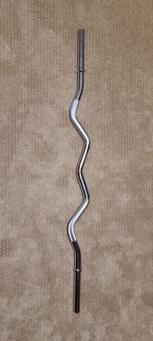 Curl bar (standard weight size) for Sale in Seattle, WA