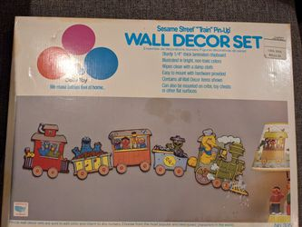 Dolly Toy Sesame street train nursery kids room decorations for Sale in Las Vegas,  NV