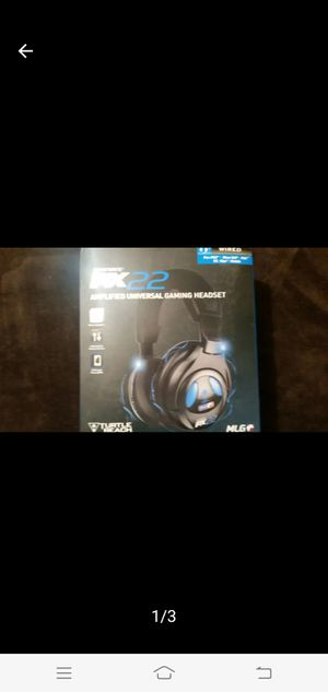 New Turtle Beach PX22 Amplified universal gaming headset $300 for Sale in Dallas, TX