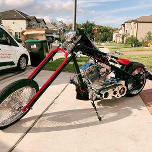 Custom Harley Davidson Ultima 1900cc Chopper Motorcycle for Sale in Orlando, FL