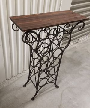 Wine Rack Table for Sale in Houston, TX