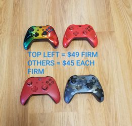 XBOX ONE CONTROLLERS, FIRM PRICE, LIKE NEW CONDITION, NO TRADE, READ DESCRIPTION FOR DETAILS for Sale in Garden Grove,  CA