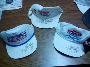 Jeff Gordon #24 autographed hats X 3 for Sale in Frostproof, FL