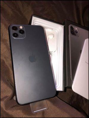 (BE CASHAPP READY). iPhone 11 Pro MAX Black. 512GBS‼️ for Sale in Burr Ridge, IL