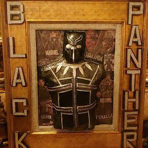 Original one of a kind black panther art for Sale in Alpharetta, GA