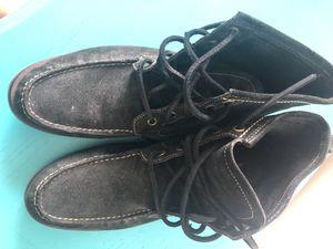 John Varvatos Star USA Men's leather boots/moccasin size 10 for Sale in Doral, FL