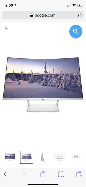 "Hp 27"" curve monitor for Sale in Pasco, WA"