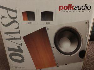 "Polk audio 10"" sub $110 for Sale in Richmond, CA"