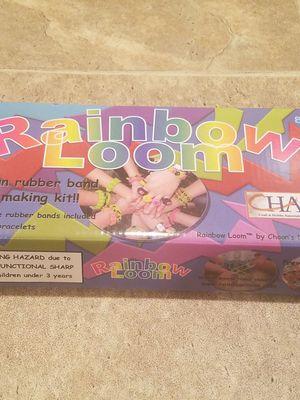 Rainbow Loom Bracelet Kit fun activity, new in box for Sale in Woodbine, NJ