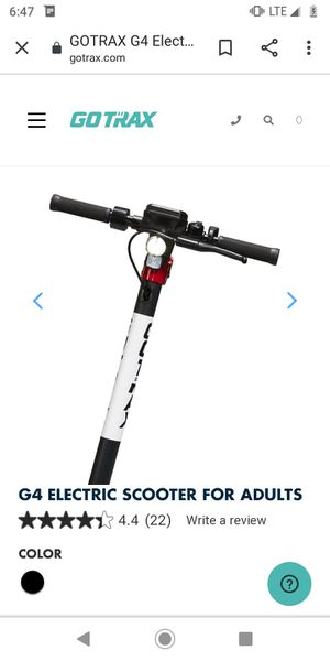 Gotrax scooter for adults for Sale in Covina, CA