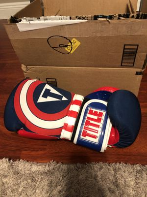 Title 16 ounce boxing gloves for Sale in Pembroke Pines, FL