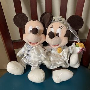 Disney Mickey Minnie Wedding Plush Doll for Sale in Sacramento, CA