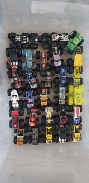 Hotwheels and Monster Jam monster trucks huge selection for Sale in Oak Lawn, IL